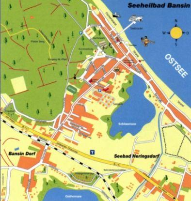bansin karte Bansin   Ferienwohnung Bansin (Usedom)
